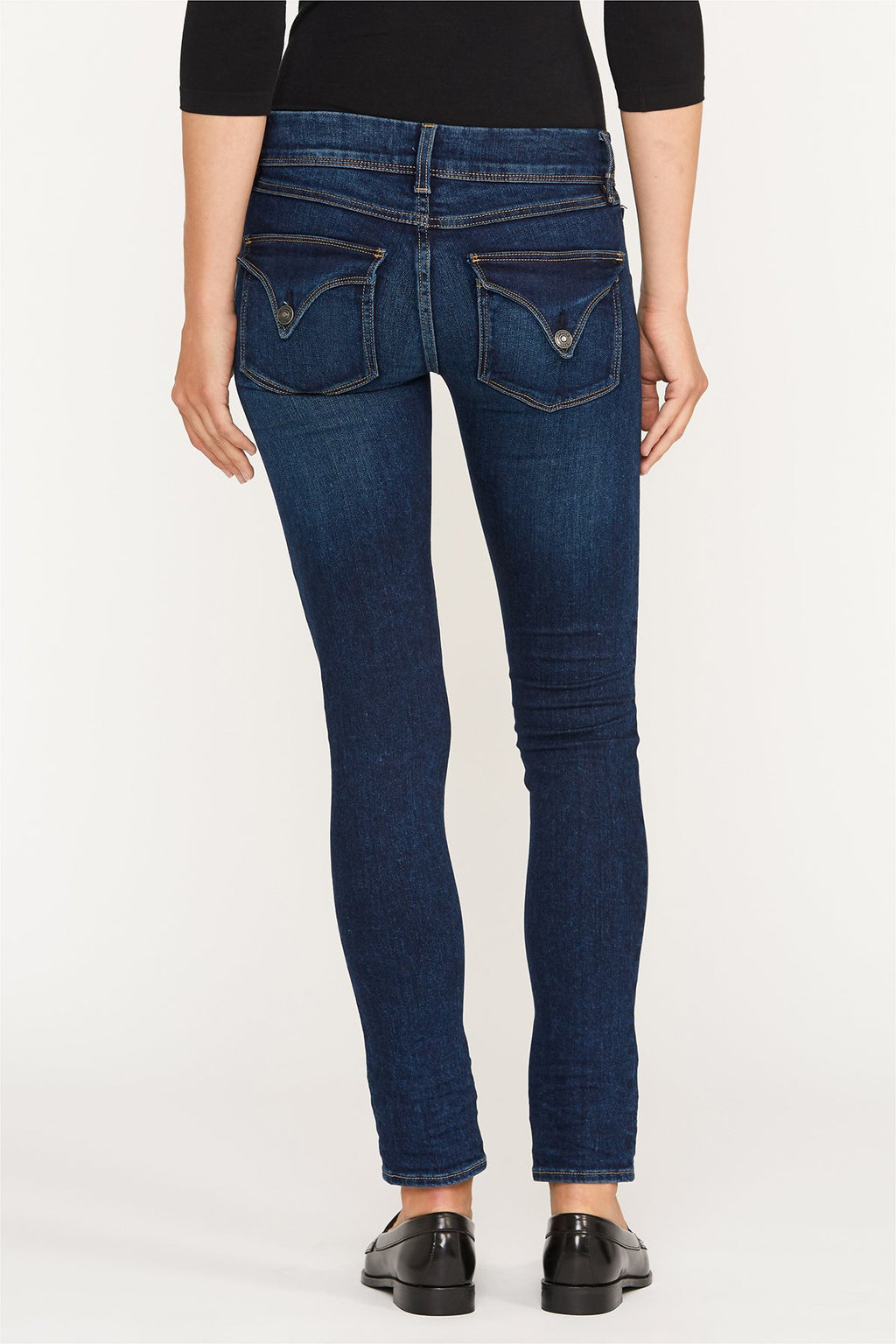 Hudson Collin Mid-Rise Skinny Jean - Obscurity