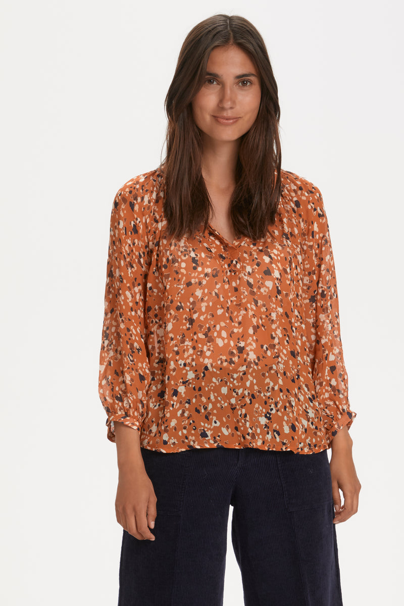 Part Two Erdonae Blouse - Caramel