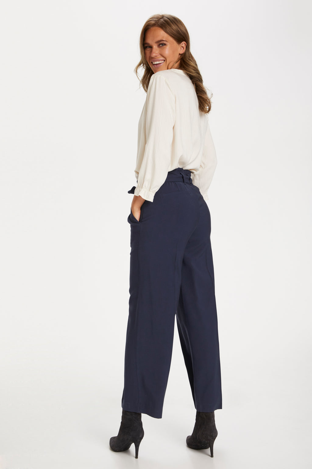 Saint Tropez Edora Trousers - Navy