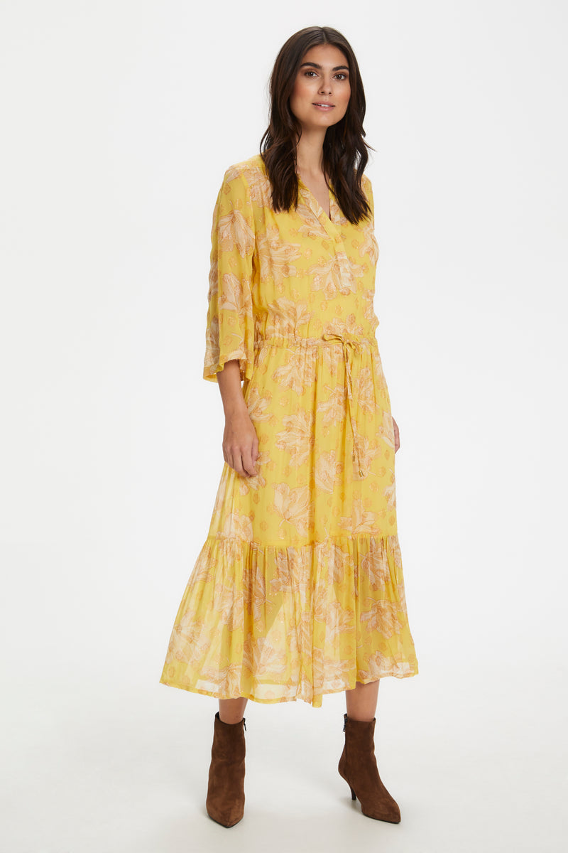 Part Two Benny Dress - Yellow