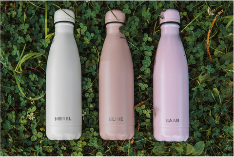 Personalised Reusable Water Bottles for employees