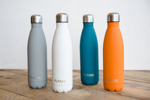FLASKE reusable water bottles