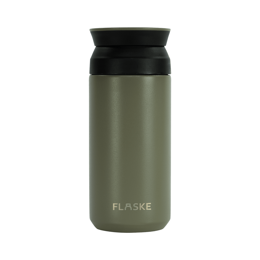 Coffee Mugs - Olive - 350ML - Flaske Bottle