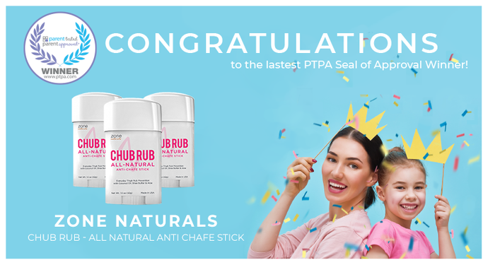 Zone Naturals Chub Rub Formula Awarded PTPA Winner Alongside P&G, Dyson and More