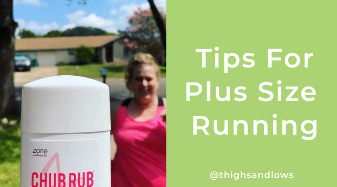 Tips for Plus Size Running 🏃‍♀️ by @thighsandlows