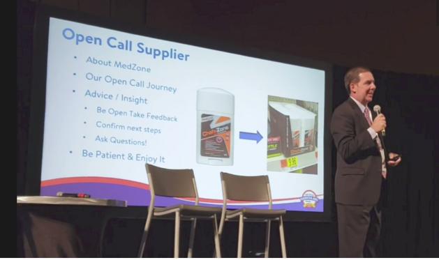 Zone Naturals Leader Speaks at Walmart HQ - Open Call 2019