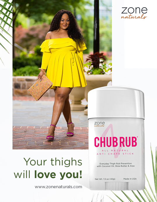 Chub Rub All Natural Anti Chafe Stick Featured On The Curvy Fashionista Facebook Live