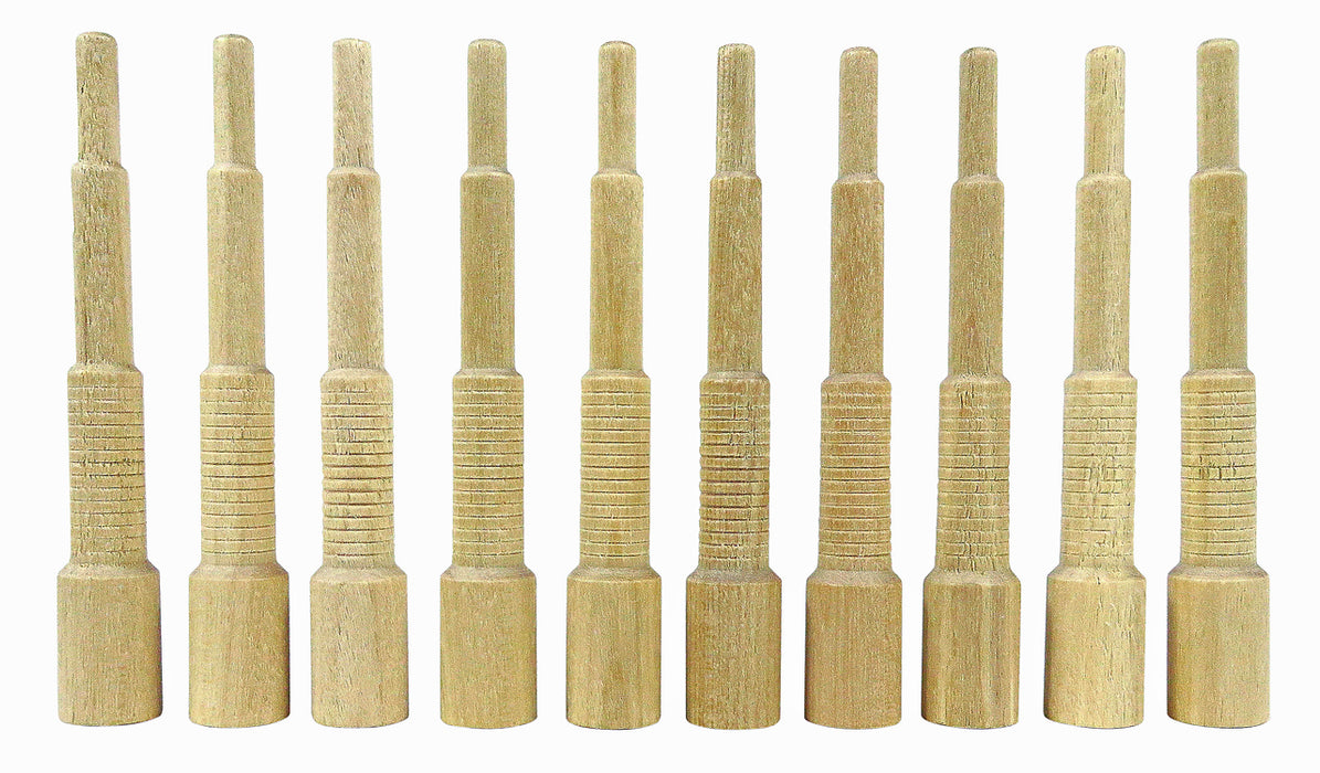 Miller Dowel 100 Pack of Mini Stepped Birch Dowels