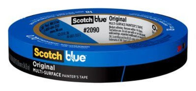 3M ™ ScotchBlue ™ 2090 Original Blue Painter's Tape 60 Yard Rolls