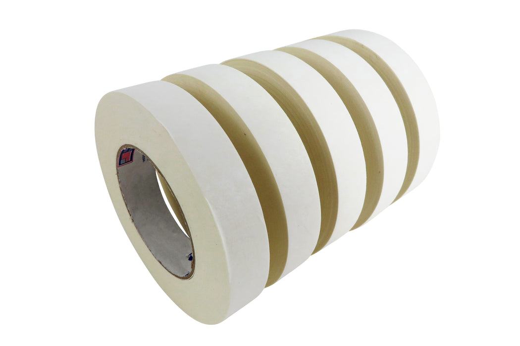 Double Stick Tape Paper Backing Natural Rubber/Resin Adhesive for The Machinist, Woodworker, Crafts-Person or DIYer 33 Yard Roll