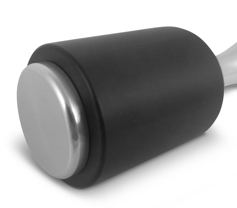 "Round Aluminum Mallet with Non-Marring Black Nylon Head, 14 Ounces Overall 7-1/4"" Overall Length"