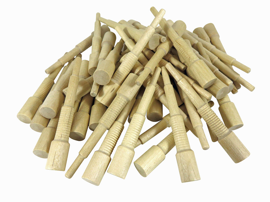 Miller Dowel 1X Stepped Birch Dowels