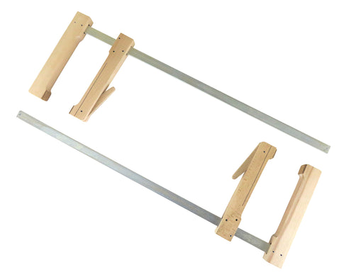 "Pair Wood Cam Action Clamps (23-1/2"" x 7-1/2"")"