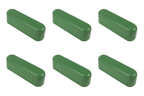 Green Chromium Oxide Micro Fine Stropping Polishing Compound Bars (1.2oz), 0.5 Microns
