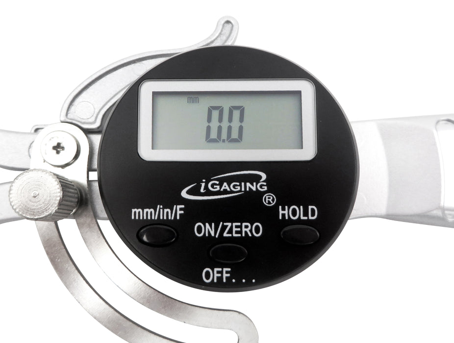 """6/"""" Electronic Digital OD Outside Gage Gauge Spring Caliper 0 to 6-3//4/"""""""