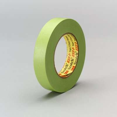 3M® Scotch® 233+ Green High Performance Masking Tape 60 yds/180 Ft