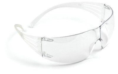 3M™ SecureFit™ Safety Glasses SF201AS, Clear Lens