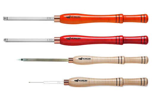 Easy Wood Tools Full-Size: Rougher, Finisher; Mid-Size Micro Detailer, Parting Tool