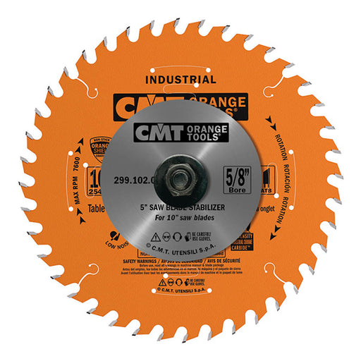 "CMT Circular Saw Blade Stabilizers for 10"" Sawblades with 5/8"" Bore (set of 2) 299.102.00"