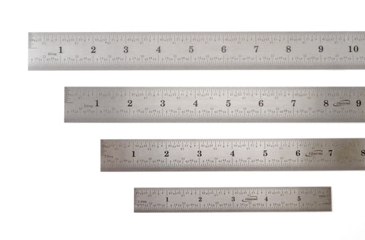 iGaging Rigid Stainless Steel 4R Rulers