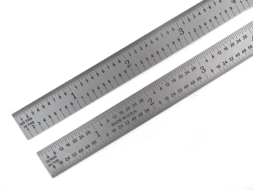 "PEC Blem Flexible Rulers 5R (1/10, 1/100, 1/32, 1/64) 6"" to 48"""