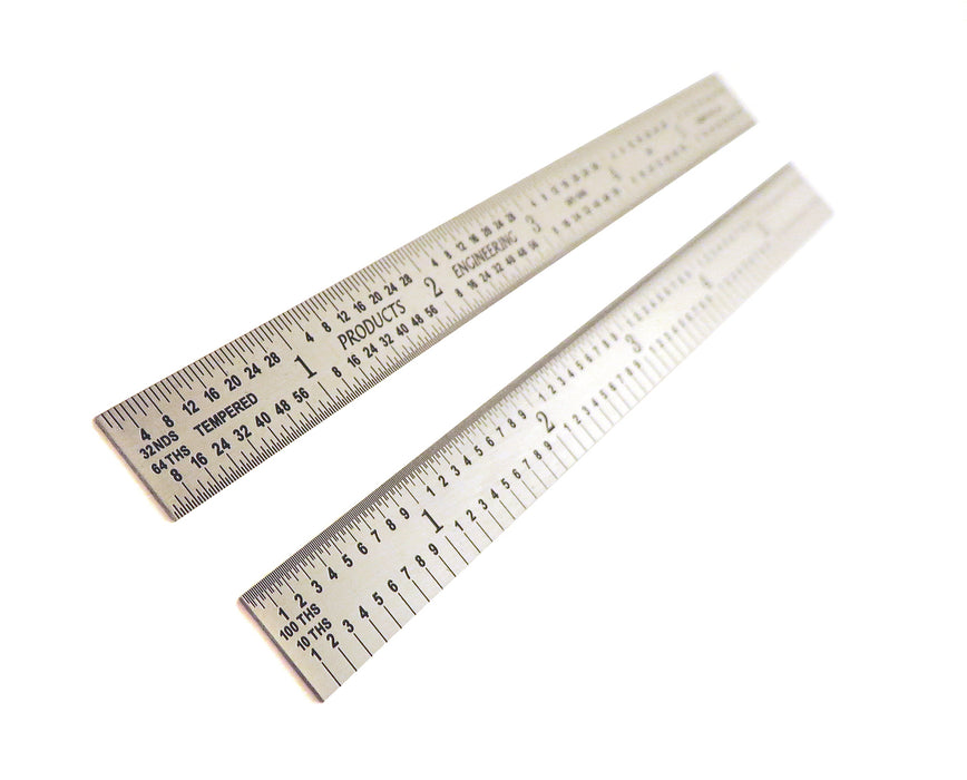 PEC Tools 5R Flexible Stainless Steel Rulers
