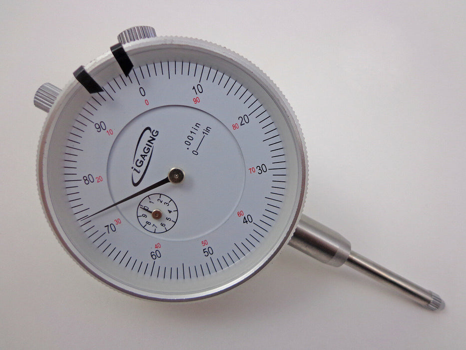 "iGaging 0-1"" Dial Indicator, 0.001"" Accuracy"
