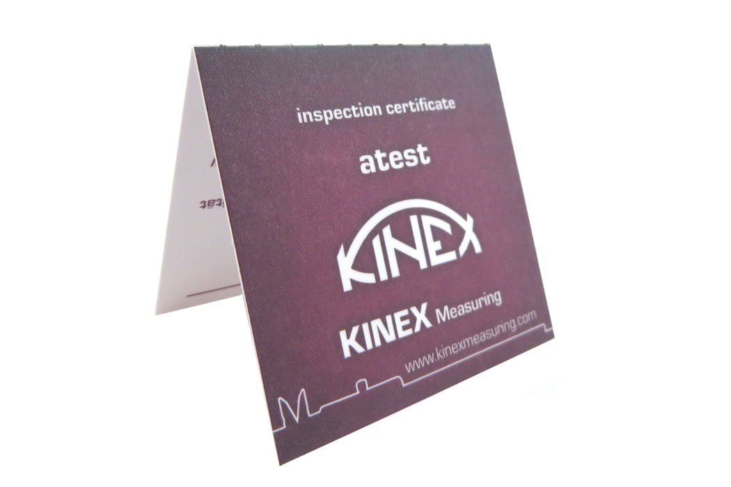 "Kinex 4 Piece Set of Solid Machinist Square 2-3/8"", 3"", 4"", 6"" (60, 75, 100, 150 mm) DIN 875/1"