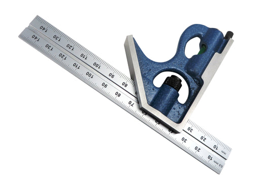 PEC Tools 150mm Metric 2 Piece Combination Square