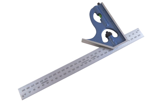 PEC Tools 300mm Metric 2 Piece Combination Square