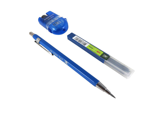2.0mm Mechanical Pencil, 6 HB Leads, Sharpener