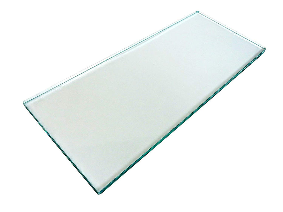 "One sheet 5/16"" x 3-1/4"" x 8-1/4"" Float Glass for Scary Sharp System"