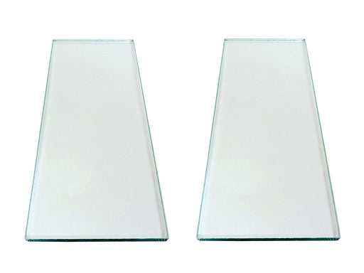 "Two sheets 5/16"" x 4-1/4"" x 10-1/4"" Float Glass for Scary Sharp System"