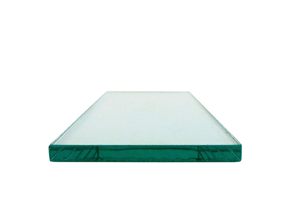 "Two sheets 5/16"" x 3-1/4"" x 8-1/4"" Float Glass for Scary Sharp System"