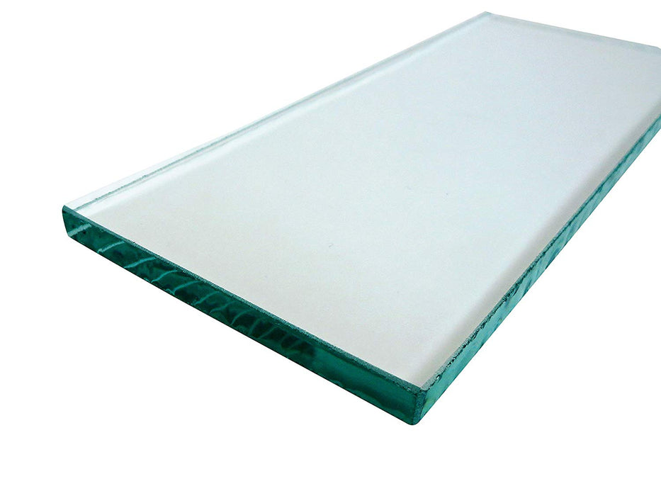"Three sheets 5/16"" x 3-1/4"" x 8-1/4"" Float Glass for Scary Sharp System"