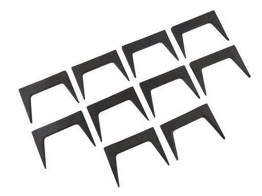 "Pack of 10 Each 1-1/2"" Pinch Dogs Tapered Legs"