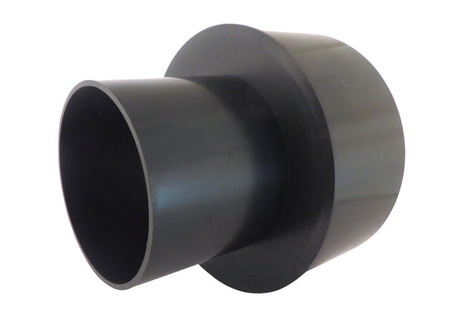 "4"" to 2.5"" OD Duct Reducer ABS Plastic"