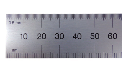 PEC Blem Rigid Rulers Metric (0.5mm, 1mm) 150 to 1000mm