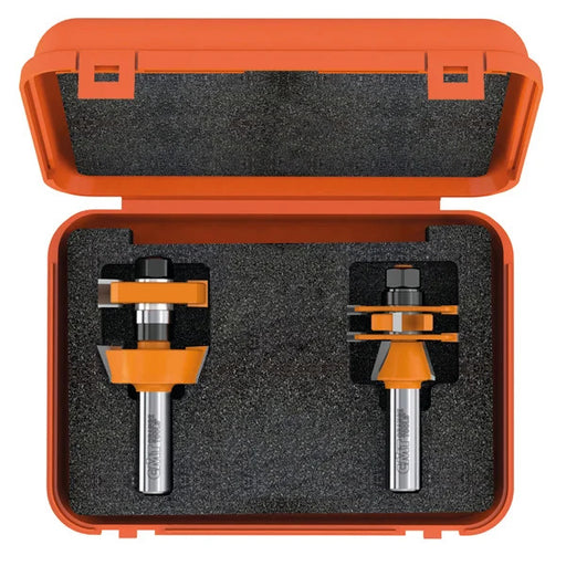 CMT Adjustable Rail and Stile Door Shaker Router Bit Set Carbide Tipped