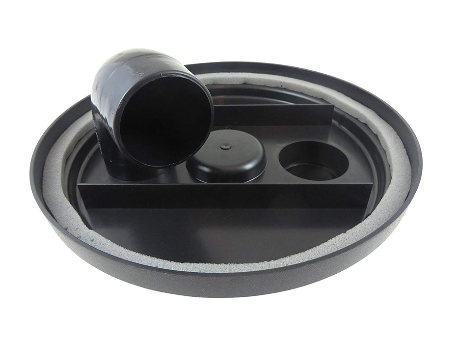 "2-1/2"" Dust Collection Shop-Vac Cyclone Separator Lid"