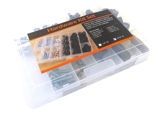 "46 Piece T Track Jig Hardware Kit 5/16"" x 18 TPI"