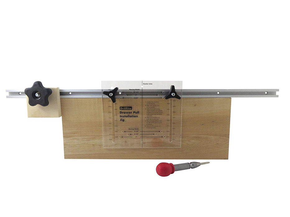 Deluxe Adjustable Hole Drilling Installation Jig