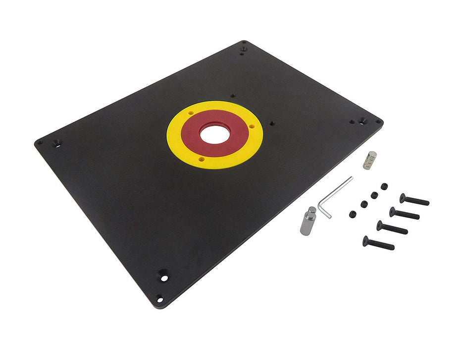 Router Table Mounting Base Plate (Aluminum)