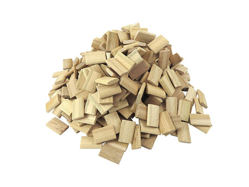 400 Pack 5mm x 30mm x 19mm Beechwood Loose Tenons for Festool Domino DF 500 and DF 700