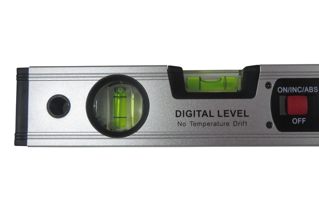"Scratch and Dent- 16"" Digital Level Angle Finder Inclinometer with Magnetic Base"