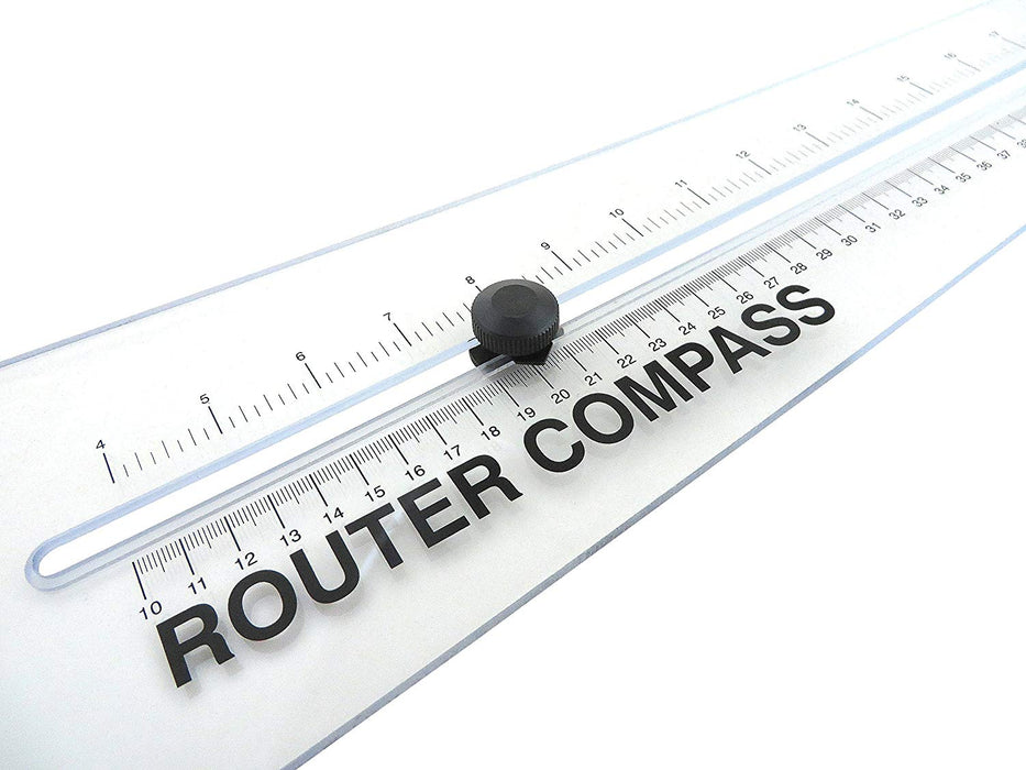 "48"" Router Compass Trammel Circle Cutting Jig 8"" to 48"" Acrylic"
