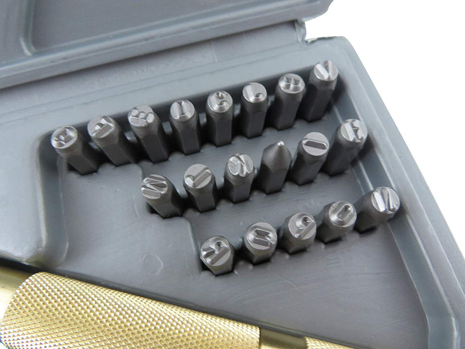 38 Piece Impact Letter/Number Automatic Punch Set