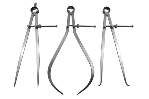"""3 Piece 6/"""" Spring Dividers Inside ID /& Outside OD Calipers C1-6//C2-6//C3-6"""