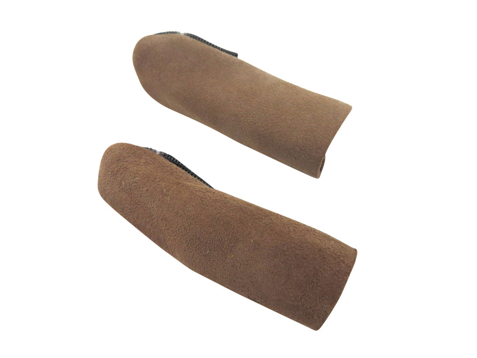 French Suede Leather Finger and Thumb Guards 3 Piece Set Large