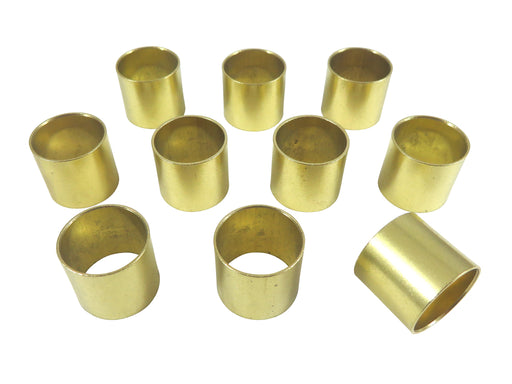 "Robert Sorby 10 Piece 19mm (3/4"") Solid Brass Ferrules"